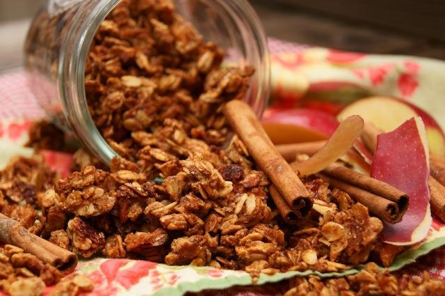 Spiced Granola for Snacking   vspicery.com